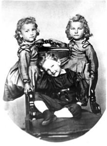 В.И. Вернадский с сестрами