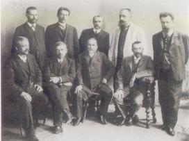 В.И. Вернадский в группе выборных членов Государственного Совета